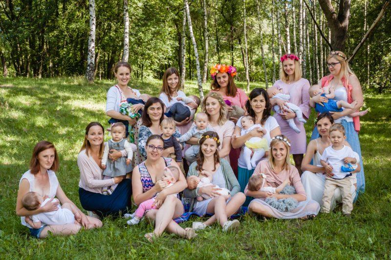2018-06 Sesja zdjęciowa Tydzień Promocji Karmienia Piersią